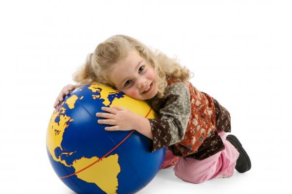 the world belongs in childrens hands
