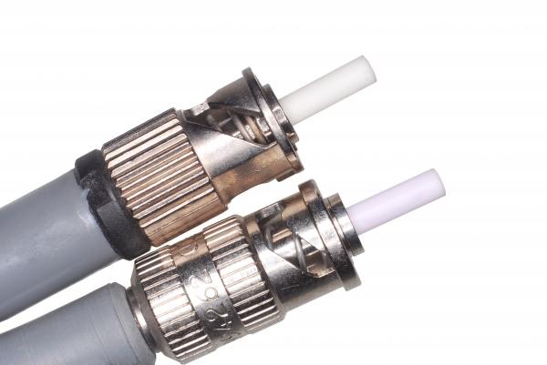 fiber optic st connectors