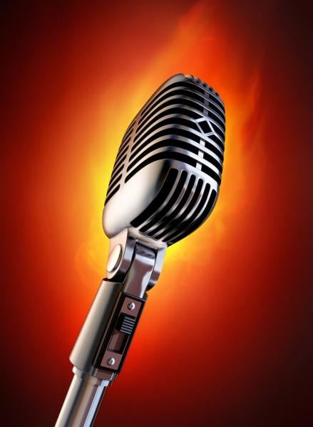 flaming mic