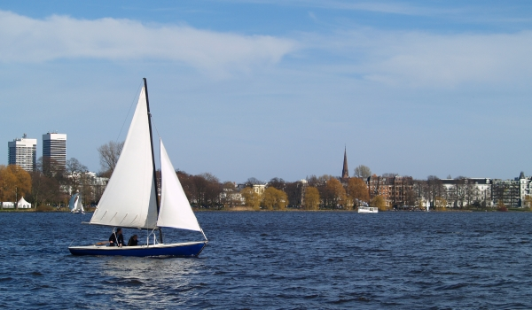 a day at the alster