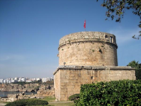 tower of hidirlik antalya