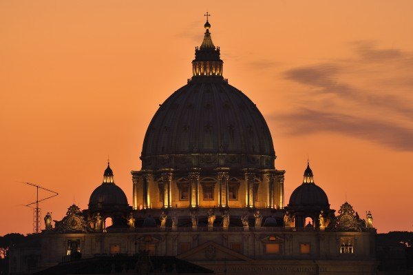 st peter s dome at