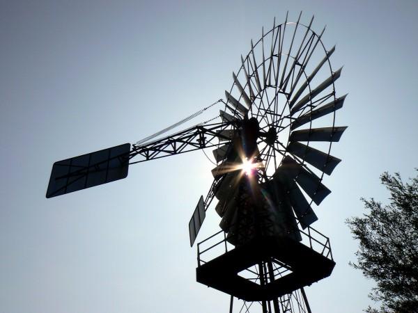 wind, schöpfwerk, lobbe, backlit - 2127363
