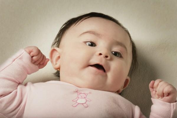 young baby girl