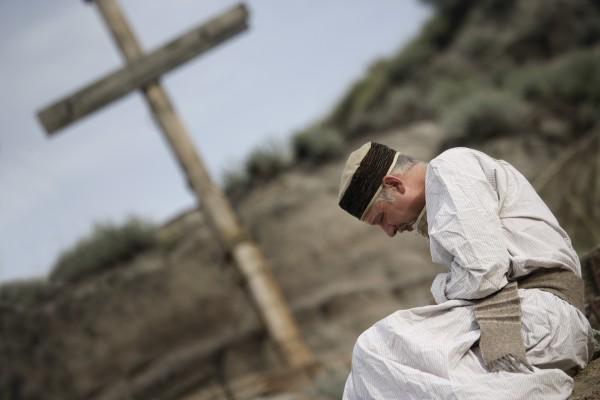 a disciple praying