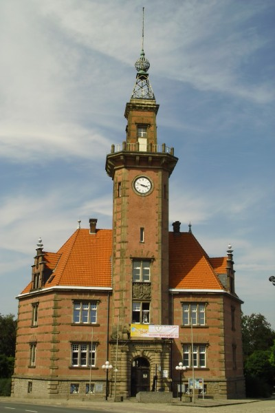 old harbour masters office in dortmund