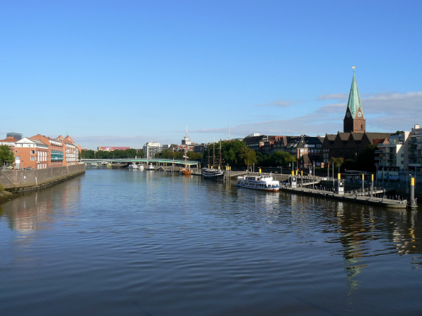 at the great weser in bremen