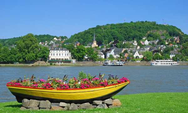view of linz on the rhine