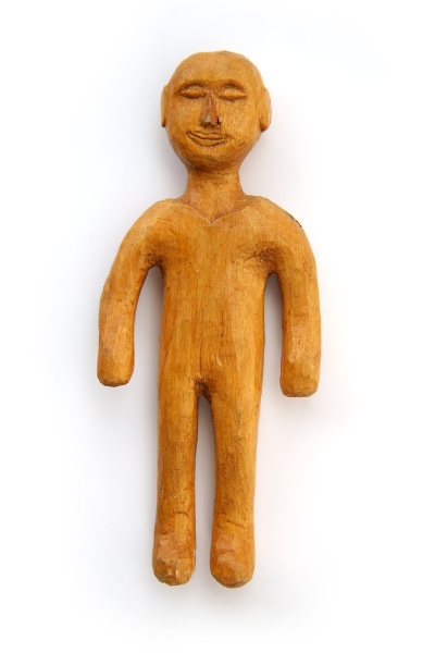 small cutted figure