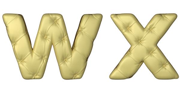 luxury beige leather font w x