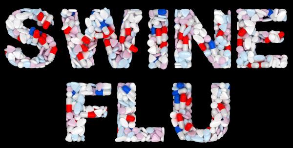 swine flu pills and drugs shape