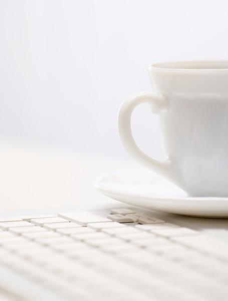 cup on keypad