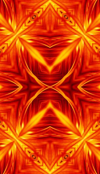fire thangka pattern