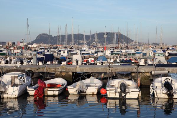 marina in algeciras province of
