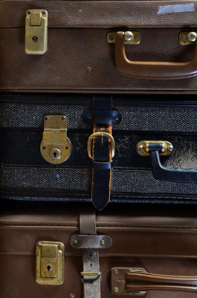 old suitcases nostalgia