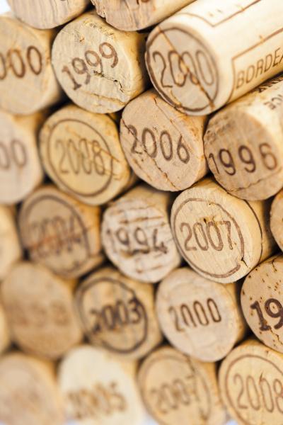 still life of corks