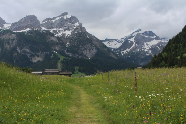 scenery in gsteig bei gstaad