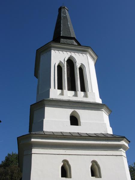 small village church in pomerania