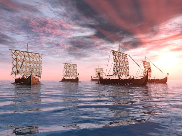 viking, ships - 10366577