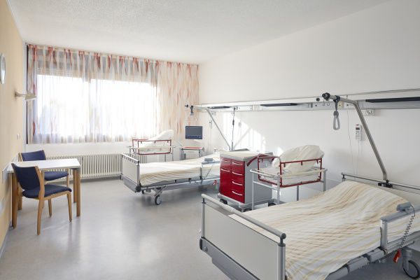room two bed hospital