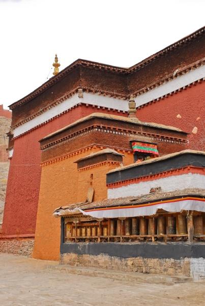 palco monastery in gyantse tibet