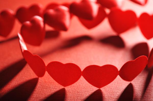 cloth hearts