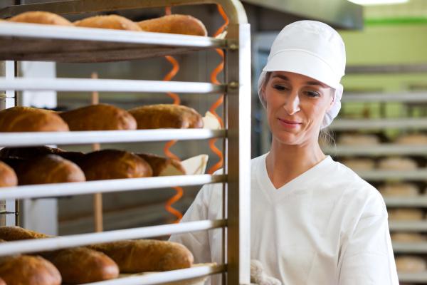 bakers baking bread