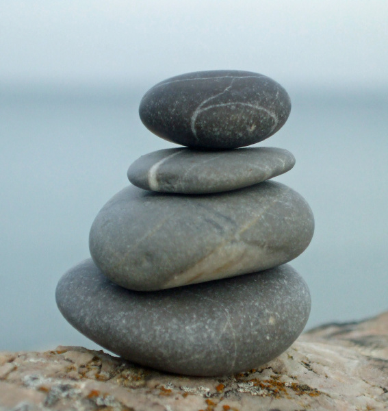 relax relaxation wellness stones sea sky