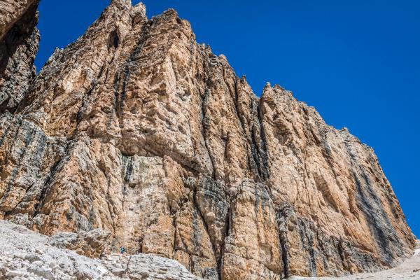 sass pordoi south face 2952 m