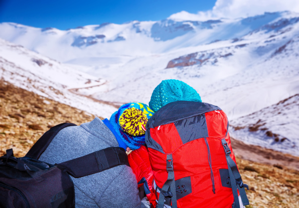 romantic extreme winter vacation