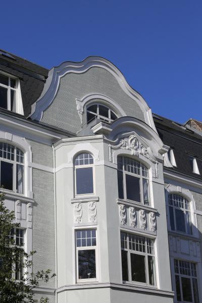 art nouveau townhouse