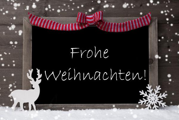 gray card snowflake loop frohe weihnachten