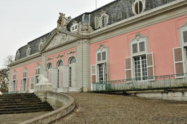 benrath castle in dusseldorf