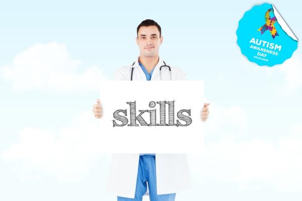 skills against blue sky
