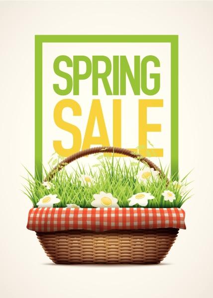 spring, sale, poster - 16321569