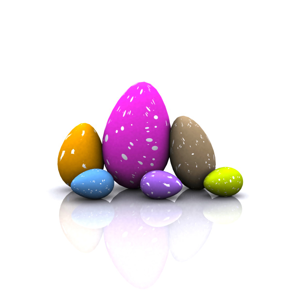 cheerful, easter, background, with, colorful, decorated - 16322207