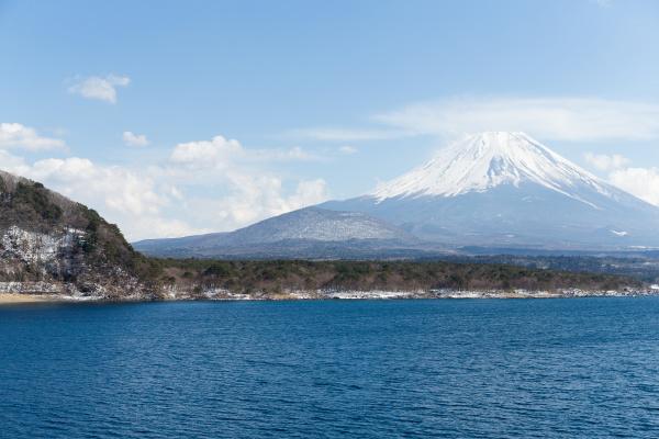 fujisan, and, lake, motosu - 16323309