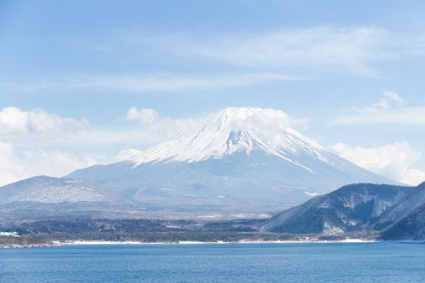 mountain, fuji, and, lake - 16323313