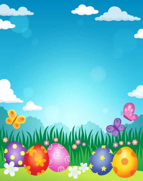 decorated, easter, eggs, theme, image, 3 - 16328575