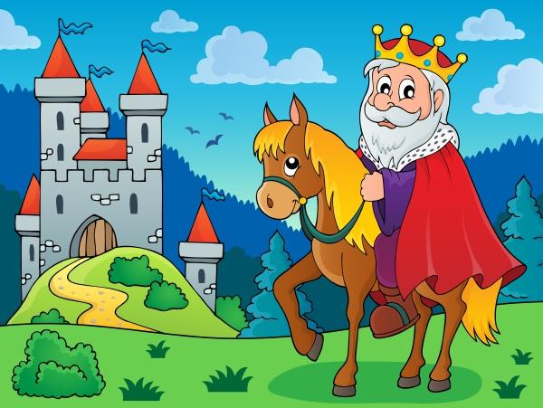 king, on, horse, theme, image, 3 - 16328617