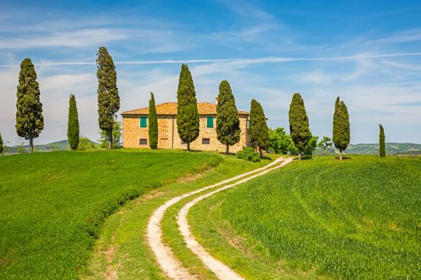 tuscany, spring, landscape - 16338355