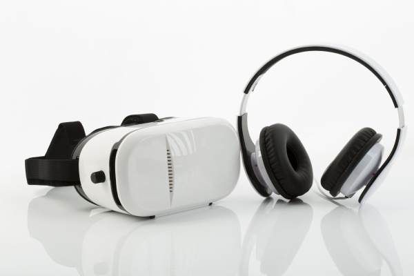 virtual, reality, glasses, and, headphones - 16340245