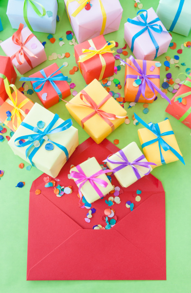 small, colorful, gifts - 16341307