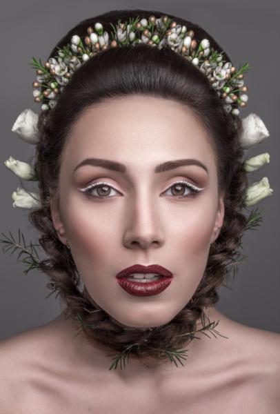 glamorous, brunette, bright, makeup, colors, color - 16342789