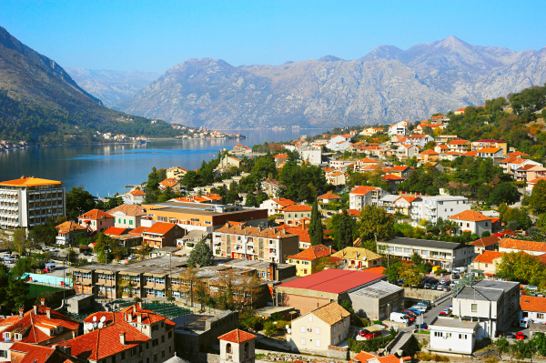 kotor, skyline, , montenegro - 16342509