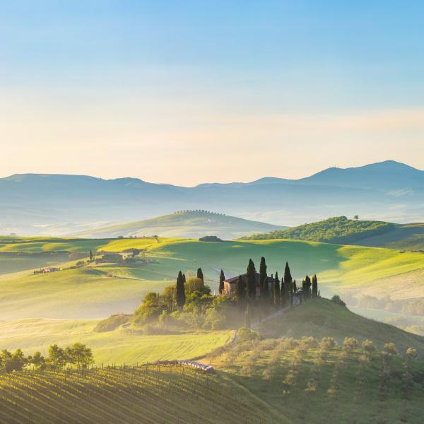 tuscany, at, spring - 16344747