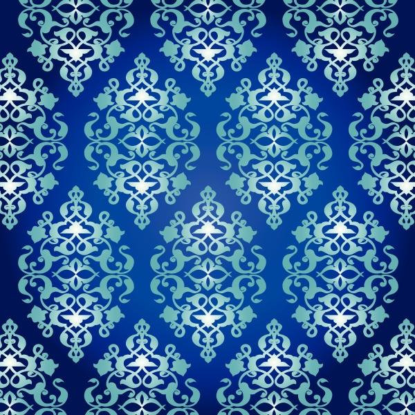 antique, ottoman, turkish, pattern, vector, design - 16345499