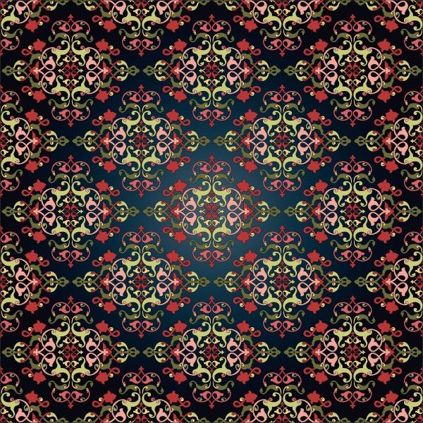 antique, ottoman, turkish, pattern, vector, design - 16345501
