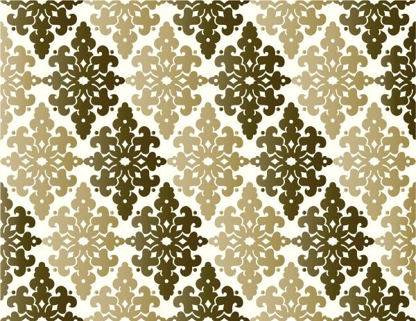 antique, ottoman, turkish, pattern, vector, design - 16345505