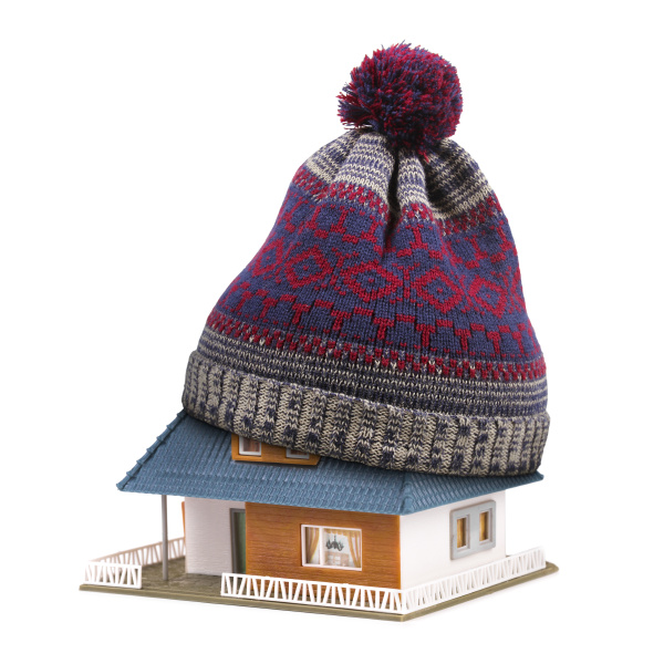 home, insulation, or, insurance, concept., hat - 16348403